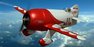 Gee Bee Model R Super Sportster by Emigepa