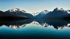 Mirrored Mountains by TimGrey
