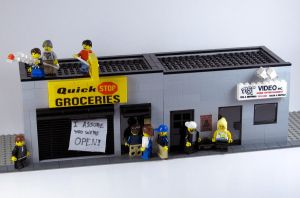 Clerks by getdamonkey