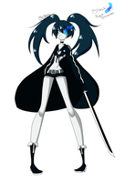 Black Rock Shooter by MelPudding