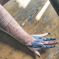 Henna and jagua, classic design by cydienne