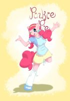 Pinkie Pie - anthro by TesslaShy