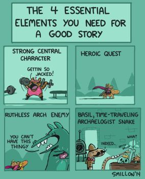 Essential Elements for a Good Story by sebreg