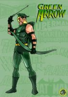 The Emerald Archer by BongzBerry