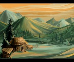 In Mountains by PENSA