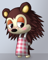 Animal Crossing Sable by BritishNicky