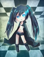 ..::Black Rock Shooter::.. by Sugar-AnnaNya