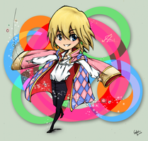 Howl Chibi by Meg-the-egg