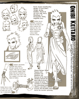 Naruto: Keitaro Design Sheet by Blindice