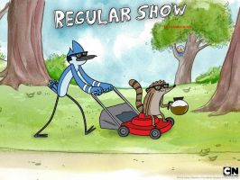 Regular Show Im in there :D by SoulthaHedgehog
