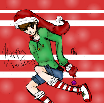 Christmas Ron by ObsessedZombie