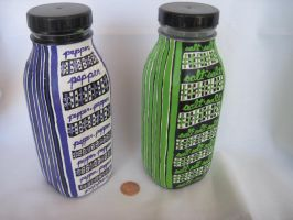 Green and Purple SP Shakers by kampfly