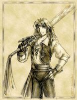 Pirate Tidus - Black Gate by nachtwulf
