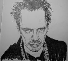 10 minute Buscemi by graphartist64