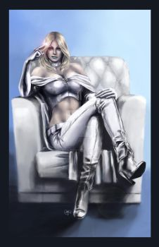 Emma Frost by Nia90