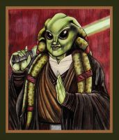 Jedi Master Kit Fisto by SeptemberGloaming