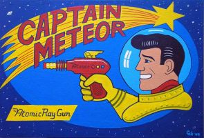 Captain Meteor by gibsart