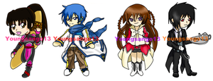 Con Badges Set 1 Complete by youngsango13