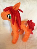 Axel Pony Plush by AniPirates