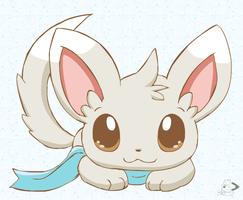 Cino the Minccino by pichu90