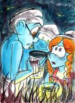 gouache_what happened? by cracked139