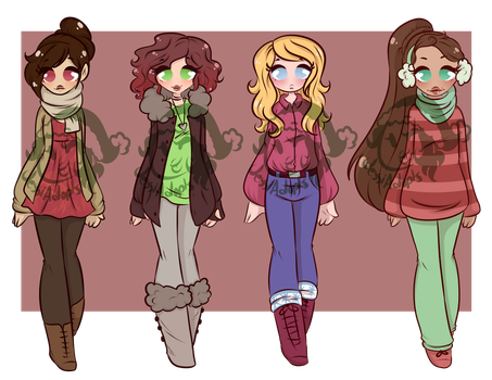 DTA 4:Winter Adopts CLOSED by JessiAdopts
