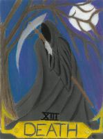 Tarot Death Card by OShea42