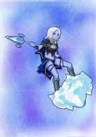 HoN - Female Glacius by jeroz