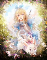 Rewritten Artbook - Alice by Ariuemi
