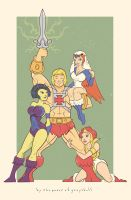 By The Power of Grayskull by daabcreative