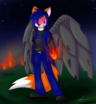 Kagatsuchi - Cleansing Flame by FallenFolf