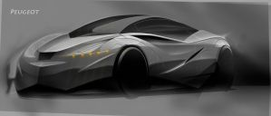 Peugeot Concept by Dannychhang