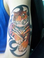 tiger tribal by accomplicefarrell