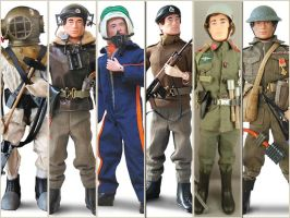 Action Man Action Figures (Toys,Dolls) by kouliousis