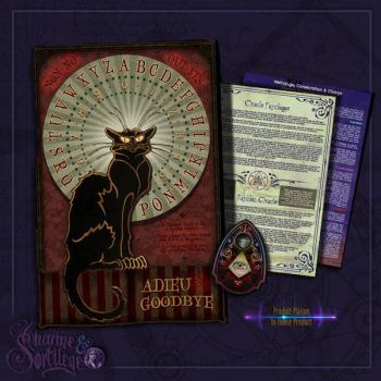 Psychic Oracle - the Cat by ArsOculus