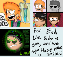 Doodles For Edd by CosmicChrissy