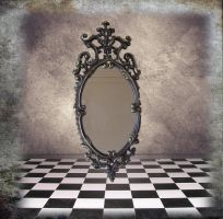 empty mirror by dred8667