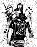 Sons of anarchy by JoshTempleton