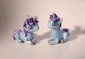 Twin Baby Unicorns by KingMelissa