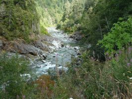 South Fork Smith River by spinner99