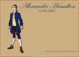 Alexander Hamilton Wallpaper by Historybuffy
