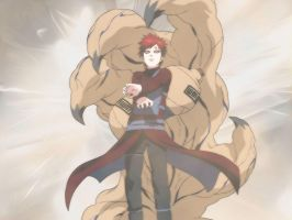 Gaara Wallpaper by AgusholliD