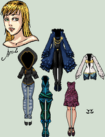 Clothes for Ami by Amela-xD