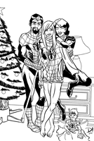 Christmas with the Parkers by spidertour02