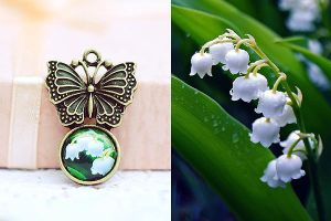 lily photo pendant by magnesina