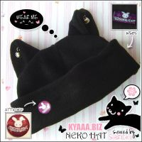 Cat Hat - Neko Hat by shiricki
