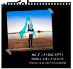 MMD Nice landscape stages_bundle by IgnisDraconi