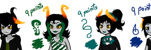 ~Homestuck Fantroll ADOPTABLES 2 ~ Closed by JessySilverVongola4