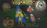 Happy Halloween! 2014 by StarSparxs
