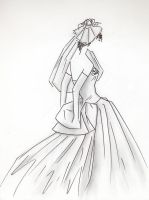 Bridal Gown by Emy4ART